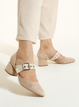 Beige - High Heel - Shoes