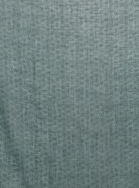 Petrol - Printed - Plain - Cotton - Scarf