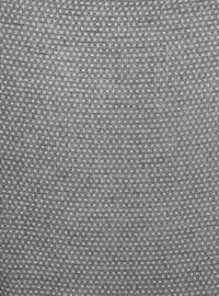 Black - Printed - Plain - Cotton - Scarf