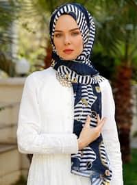 Multi - Printed - Shawl - Şal Evi