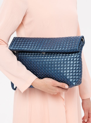 Navy Blue - Clutch Bags / Handbags