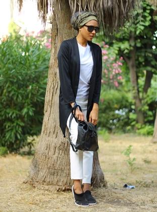 Black - Unlined - Acrylic - Jacket