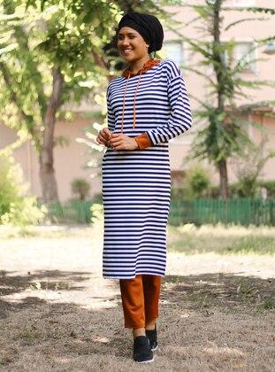 Tan - Stripe - Suit