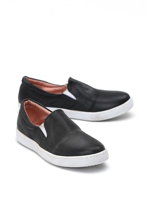 Black - Casual - Girls` Shoes - Y-London