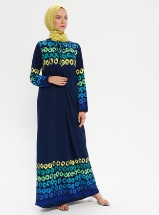 Navy Blue - Dress