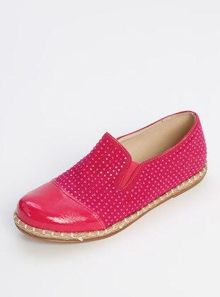 Fuchsia - Casual - Girls` Shoes