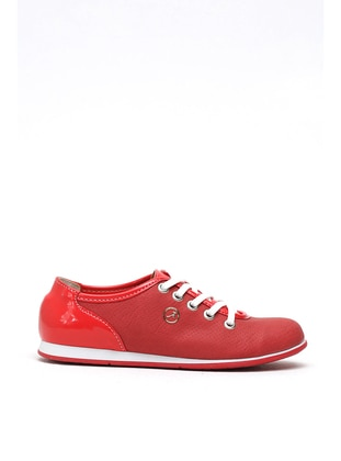 Red - Casual - Girls` Shoes - Y-London