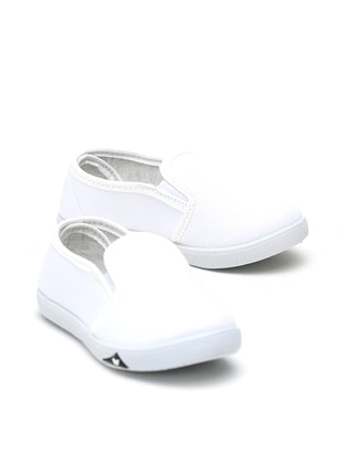 White - Flat - Girls` Flat Shoes - Y-London