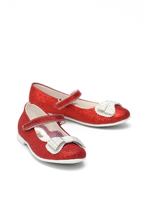 Red - Flat - Girls` Flat Shoes - Y-London