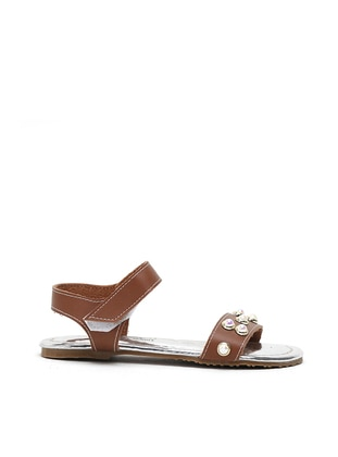 Tan - Sandal - Girls` Sandals - Y-London