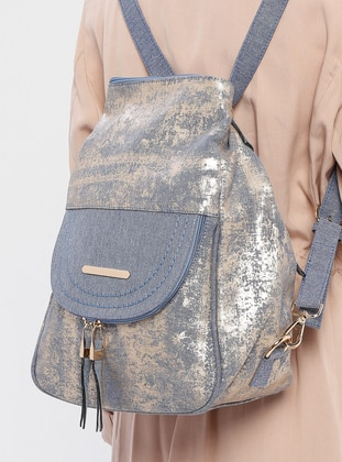 Gold - Blue - Backpacks