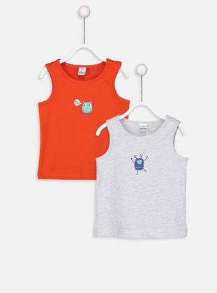 Orange - Baby Underwear Set