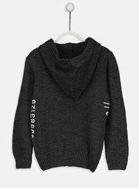 Anthracite - Boys` Cardigan