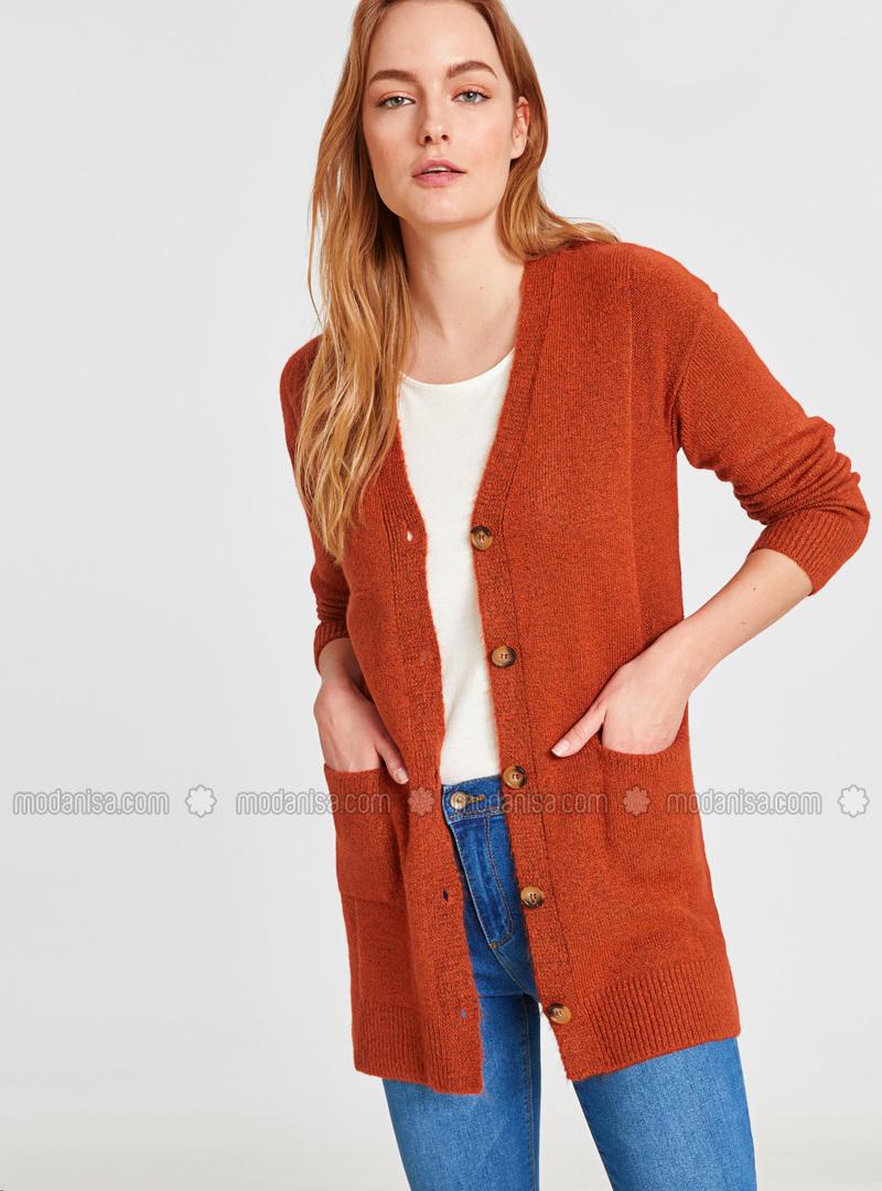 Orange - Cardigan