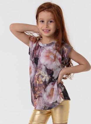 Gold - Girls` Shorts