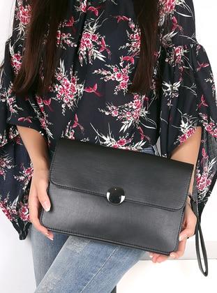Black - Clutch Bags / Handbags - WMİLANO