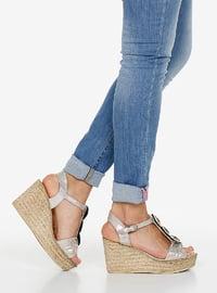 Silver tone - Sandal - Sandal