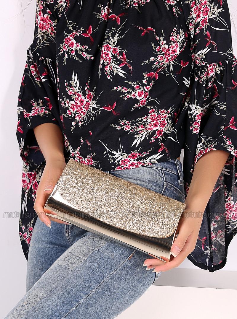 Gold - Clutch Bags / Handbags