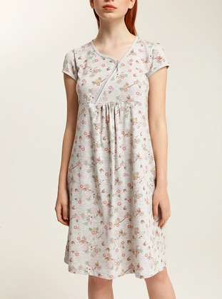 Gray - Nightdress