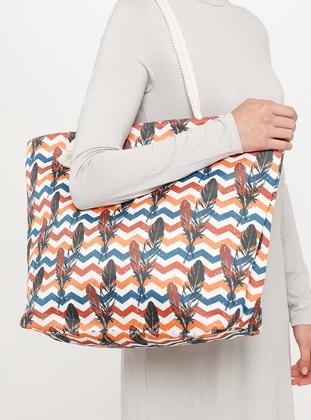 Satchel - Orange - Beach Bags