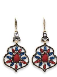 Red - Blue - Earring