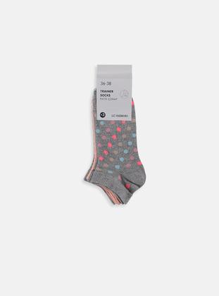 Gray - Socks - LC WAIKIKI