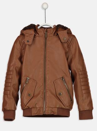 Beige - Boys` Jacket