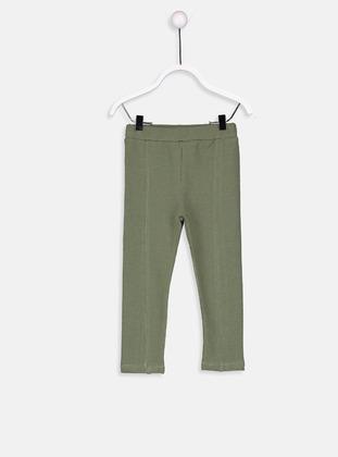 Khaki - baby tights