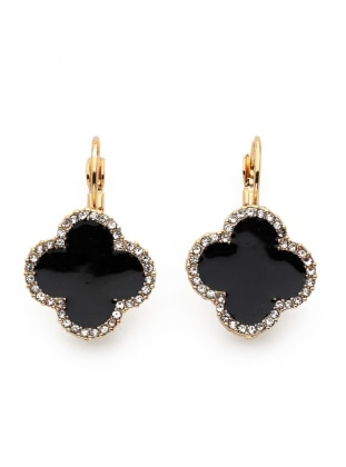 Black - Black - Earring