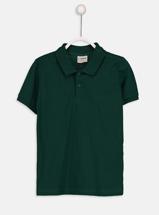Green - Boys` T-Shirt - LC WAIKIKI