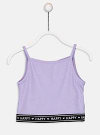 Lilac - Girls` T-Shirt