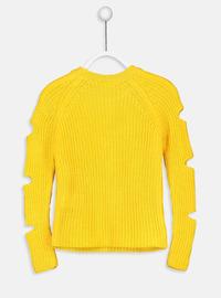 Yellow - Girls` Pullovers