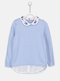 Blue - Girls` Pullovers
