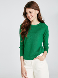 Crew neck - Green - Jumper