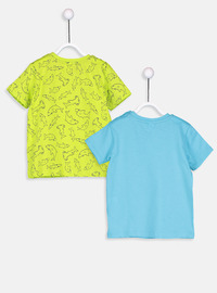 Crew neck - Turquoise - baby t-shirts
