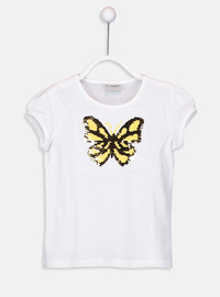 White - Girls` T-Shirt