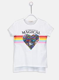 White - Girls` T-Shirt