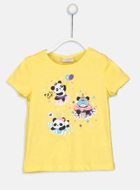 Yellow - Girls` T-Shirt