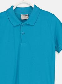Turquoise - Boys` T-Shirt