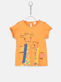 Crew neck - Orange - baby t-shirts