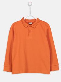 Orange - Boys` T-Shirt