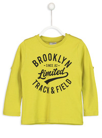 Crew neck - Green - Boys` T-Shirt