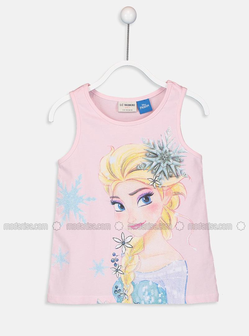 Pink - Girls` T-Shirt
