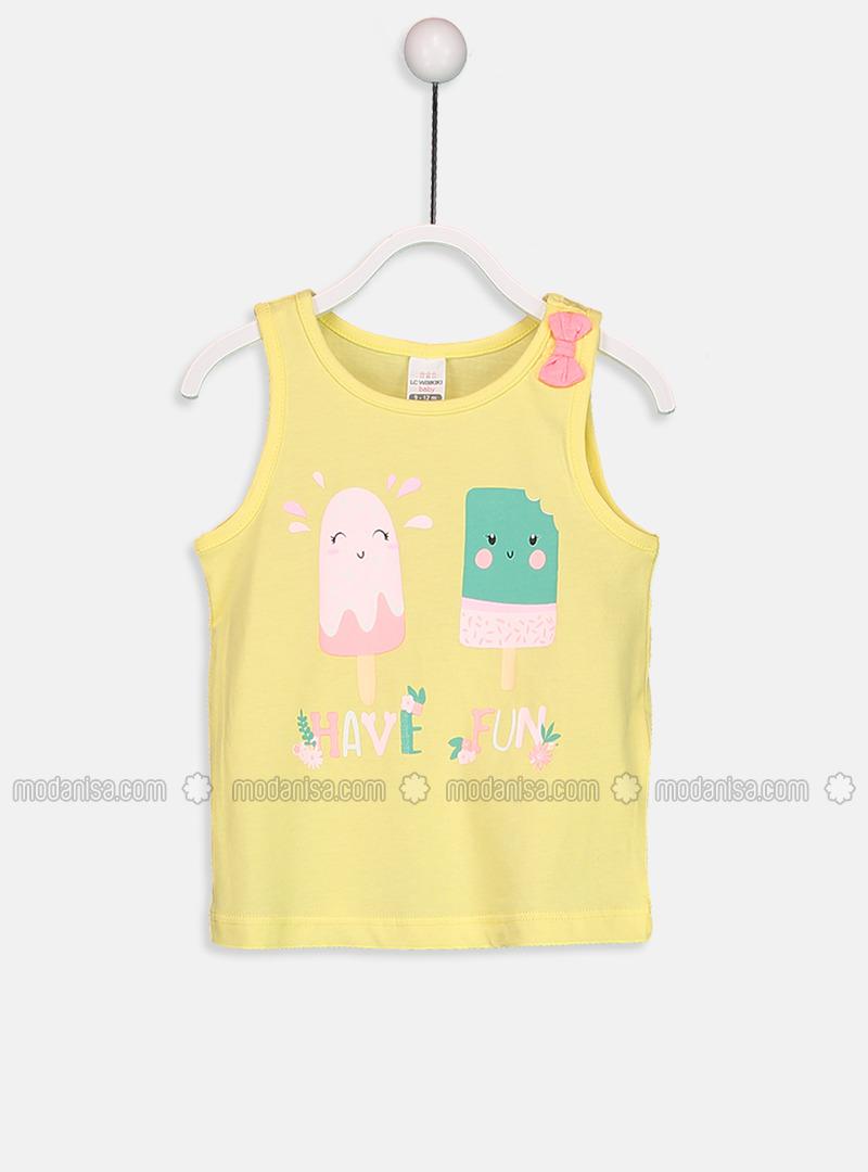 Crew neck - Yellow - Baby Accessory