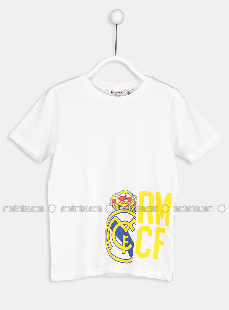 White - Boys` T-Shirt