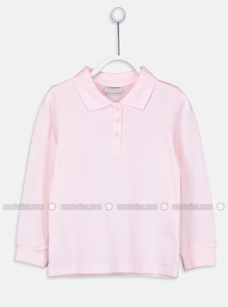Pink - Girls` T-Shirt