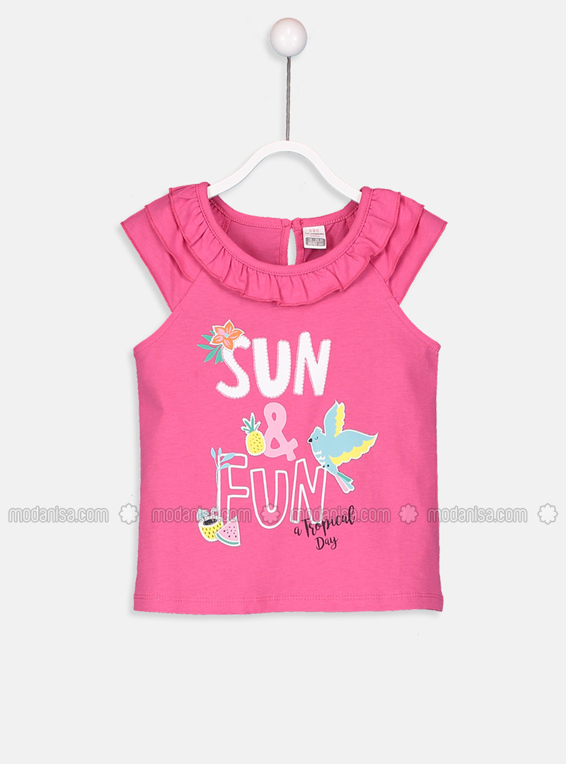 Fuchsia - Baby T-Shirts