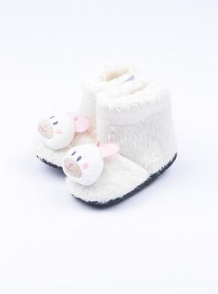 Ecru - Casual - Kids Home Shoes