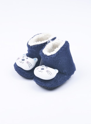 Navy Blue - Casual - Kids Home Shoes