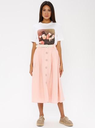Powder - Half Lined - Cotton - Rayon - Skirt